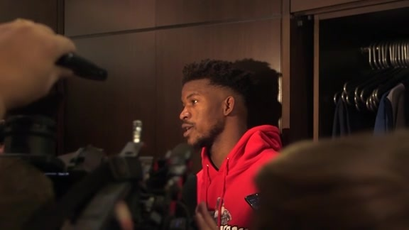 Postgame - Oct. 20 | Jimmy Butler