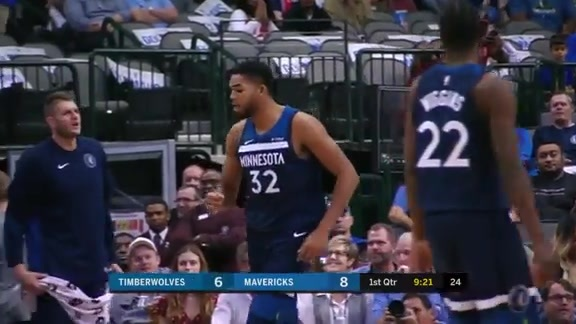 Towns Throws It Down