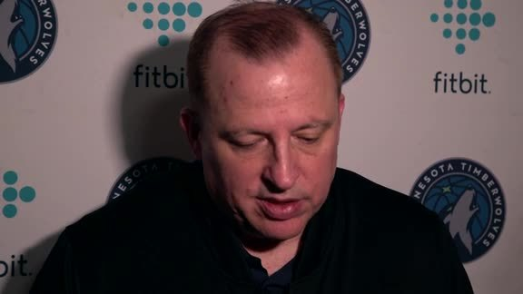 Shootaround Access - Nov. 19 | Tom Thibodeau