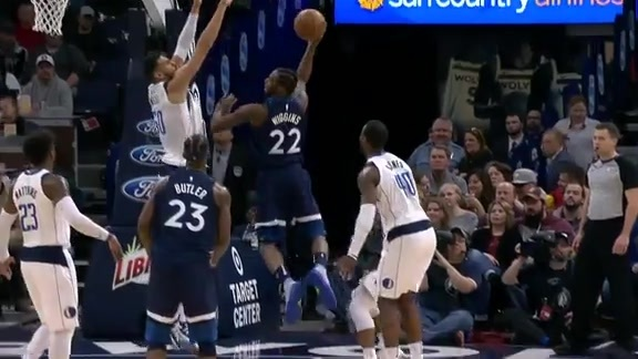 Towns Finishes Tough And-One