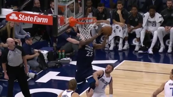 Butler And-One Layup