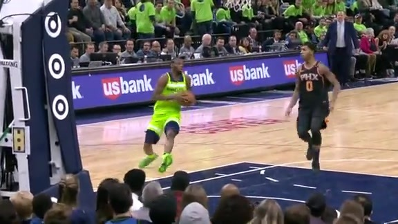 Wiggins With The Layup