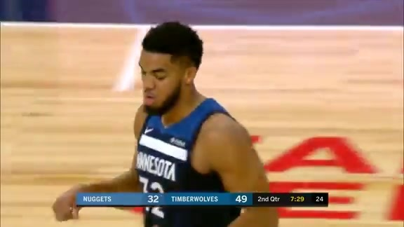 Assist of the Night: Karl Anthony-Towns