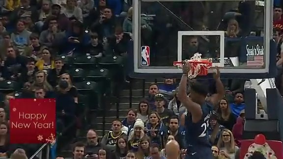Butler Finishes the Alley-Oop