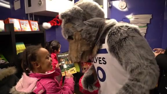 Minnesota Timberwolves & Lynx Book Mobile