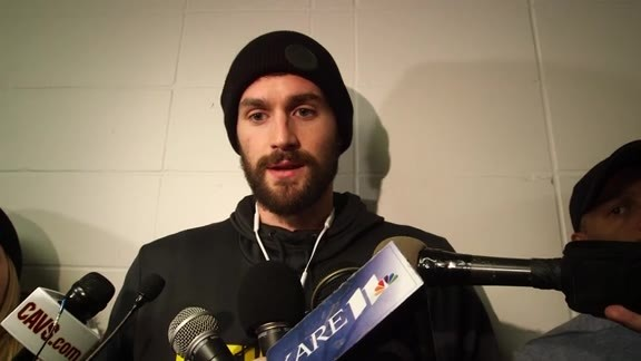 Shootaround Access - Jan. 8 | Kevin Love