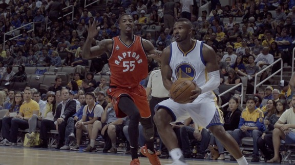 Warriors Beat Raptors 95-87