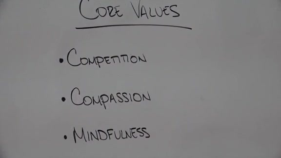 Warriors Core Values