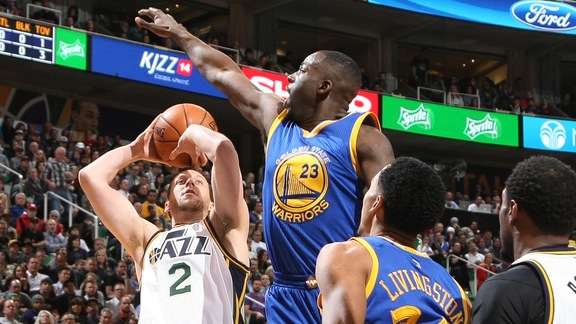 Warriors Beat Jazz 106-103