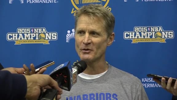 Warriors Talk: Kerr, Curry and Green 1.22.16