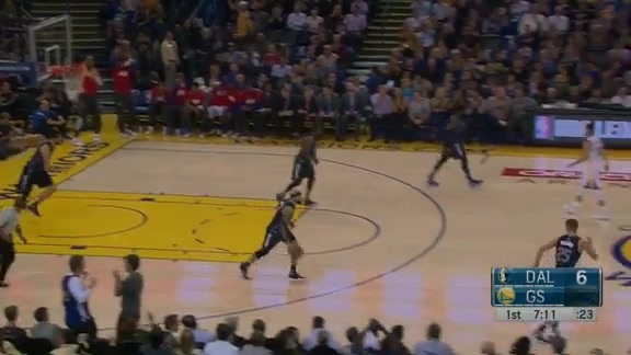 Klay Thompson, early splash
