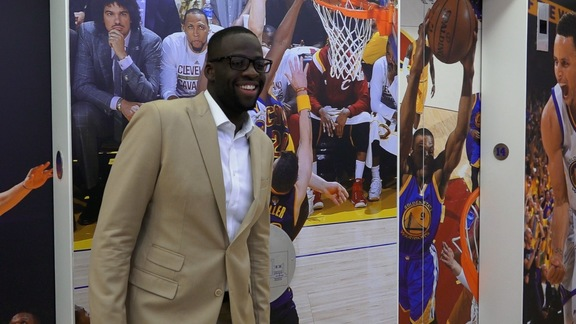 Draymond's Day in NYC