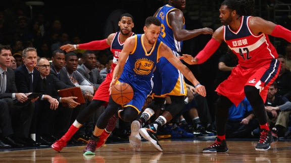 Warriors Beat Wizards 134-121