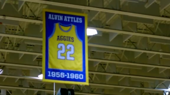 Black History is Golden: Alvin Attles North Carolina A&T