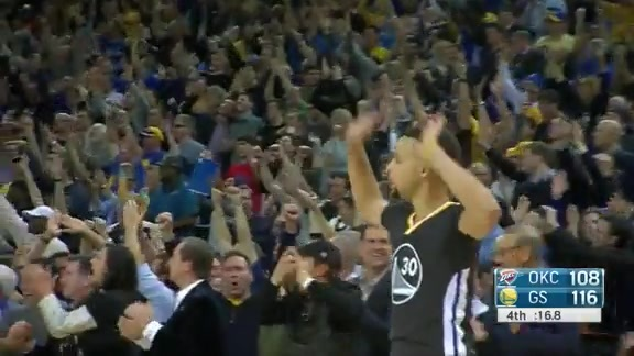 Warriors Plays of the Week: Heading to the Break