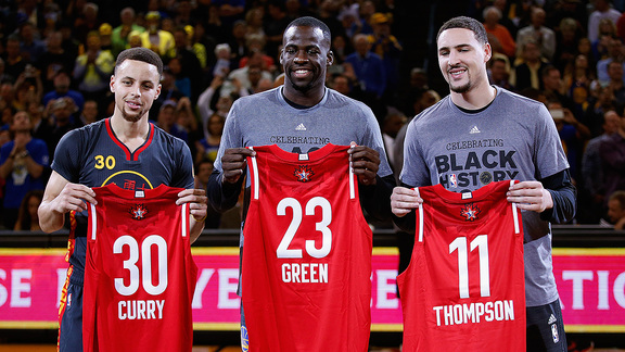 Shining Stars: Thompson, Green and Curry