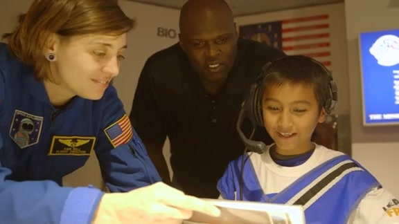 Math Hoops Live at Chabot Space & Science Center