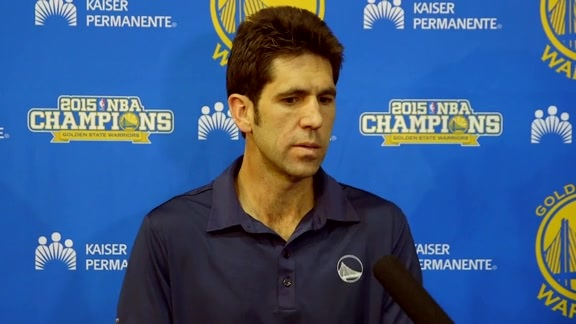 Warriors Talk: Bob Myers 4.25.16