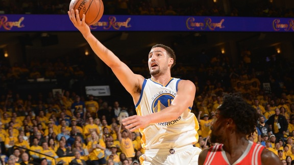 Warriors Beat Rockets 114-81 in Game Five