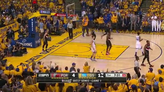 Klay Thompson does Klay Thompson stuff