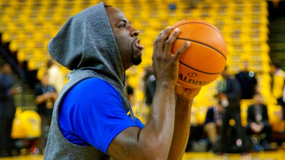 Warriors Prepare for Game Two Against Portland