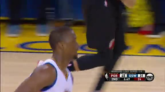 Barnes Throws Down
