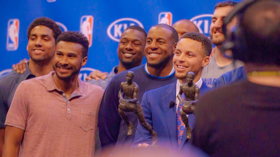 All-Access: MVP Stephen Curry