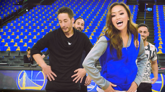 Warriors Dance Team x Flying Bach