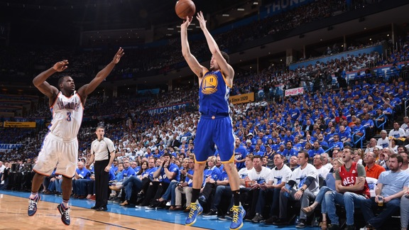 Warriors Fall to OKC 133-105 in Game 3