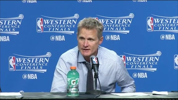 Warriors Postgame Talk: Steve Kerr 5.24.16