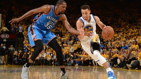 Warriors Beat OKC 120-111 in Game 5