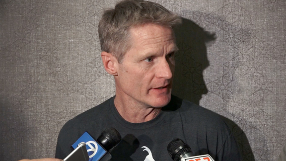 Warriors Talk - Steve Kerr 5.27.16