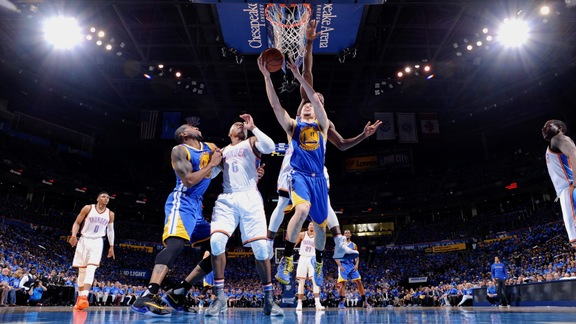 Warriors Beat OKC 108-101 in Game 6