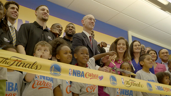Golden State Warriors 2016 NBA Finals Legacy Project