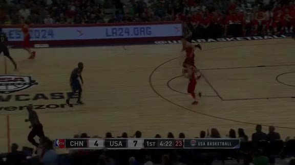Thompson Three, Assisted by Durant