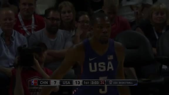 Durant Nails a Three