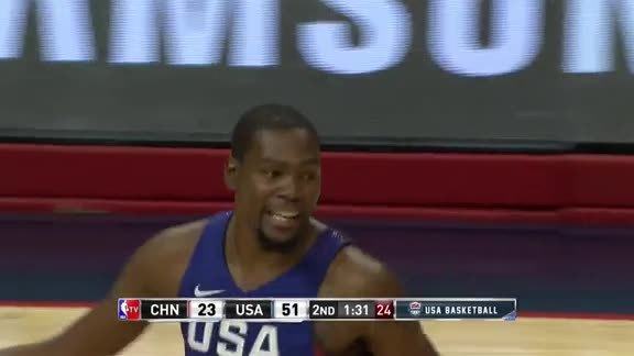 Corner Three by Durant