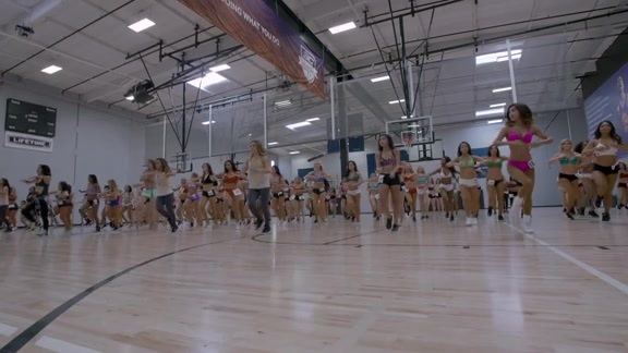 Behind the Scenes of the 2016-17 Warriors Dance Team Auditions