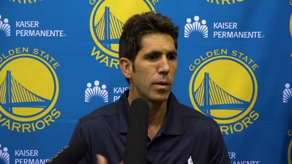 Warriors Talk: Bob Myers 9.22.16