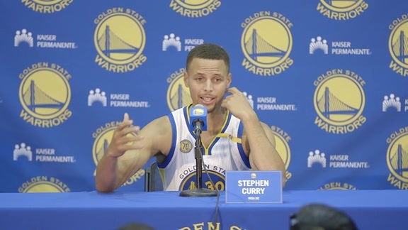 Warriors Media Day: Stephen Curry