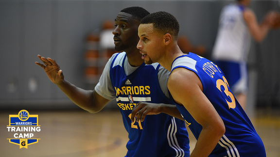 2016 Warriors Training Camp: Off to Vancouver