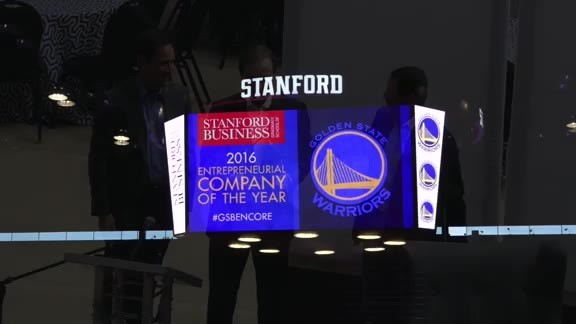 Warriors Win Encore Award