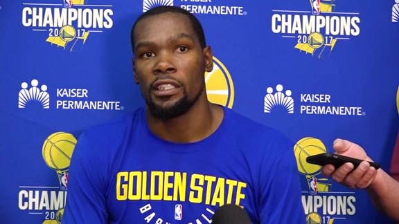 Warriors Talk: Kevin Durant - 9/24/17