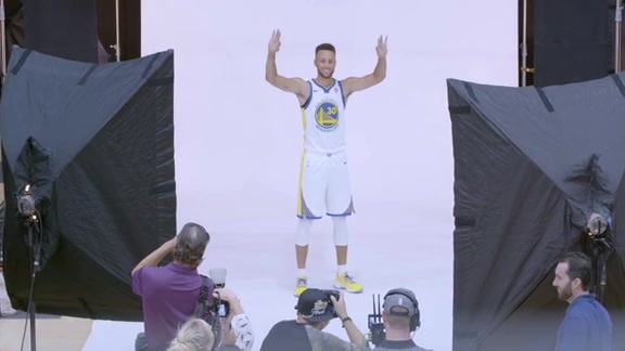 All-Access: Warriors Media Day 2017