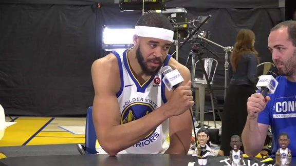 Warriors Outsiders at Media Day: JaVale McGee