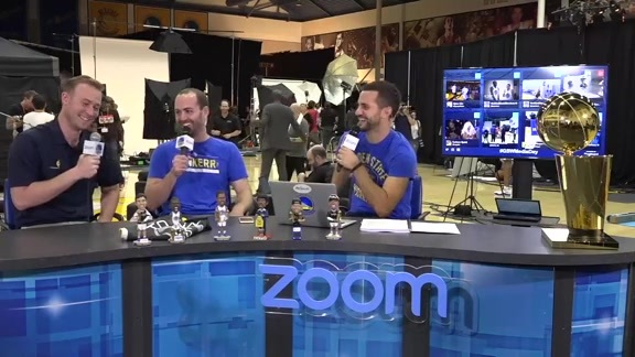 Warriors Outsiders at Media Day: Kirk Lacob