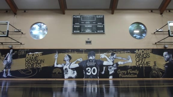 Curry Surprises Bushrod Community Center With Facility Refurb