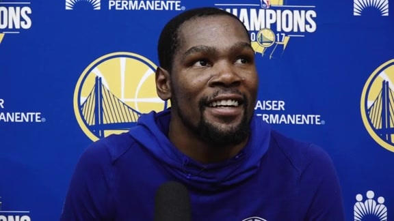 Warriors Talk: Kevin Durant - 10/15/17