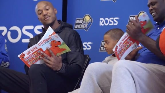 Read to Achieve Reading Rally with David West, Presented by Ross Stores
