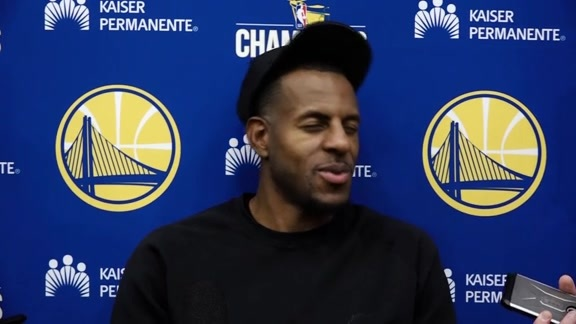 Warriors Talk: Andre Iguodala - 10/18/17